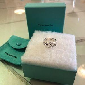 Tiffany & Co Picasso Paloma Heart Ring sz 4.5